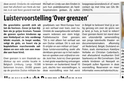 20160603 weekblad HAC Neerpelt
